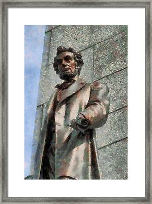 Abraham Lincoln Framed Print by Dan Sproul