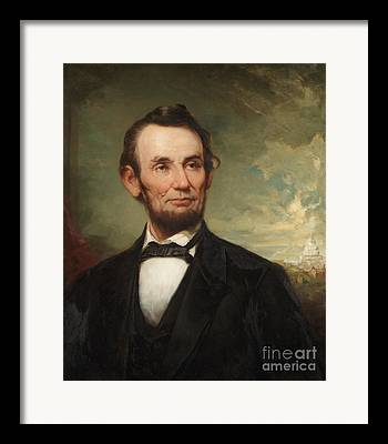 Abraham Lincoln Paintings Framed Prints