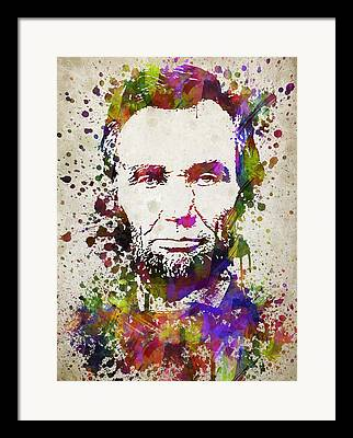 Lincoln Drawings Framed Prints