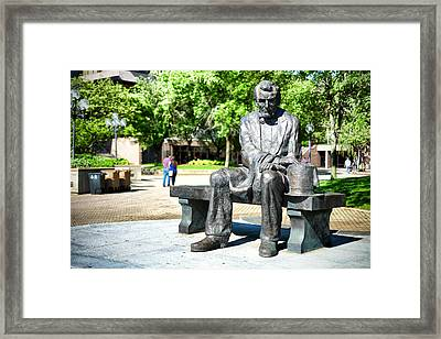 Abraham Lincoln Monument Framed Print