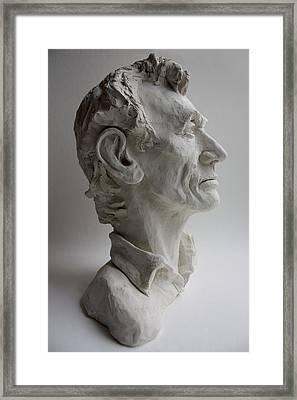 Abraham Lincoln- Profile Framed Print