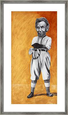 Abraham Lincoln's Rookie Season Framed Print by Michael Pittman