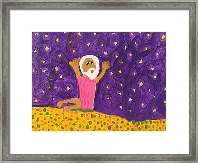 Abram 's Vison Framed Print