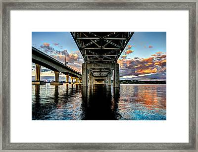 Abridged Sunset Framed Print by Brian Xavier