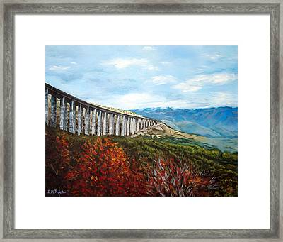 Abruzzo Italian Countryside  Framed Print