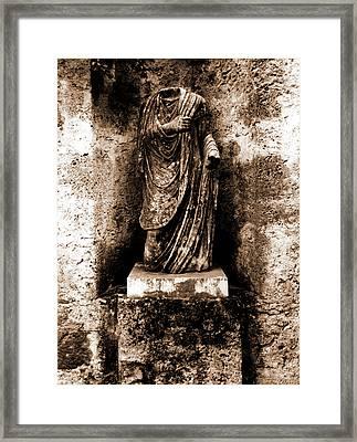 Abruzzo, Laquila, Castiglione A Casauria Framed Print