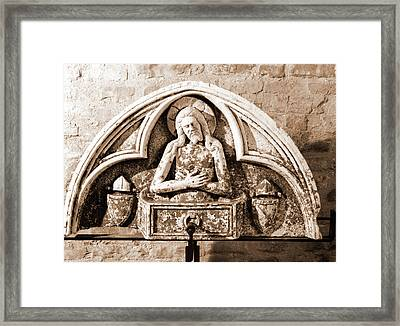 Abruzzo, Pescara, Penne, Palazzo Vescovile, Museo Framed Print