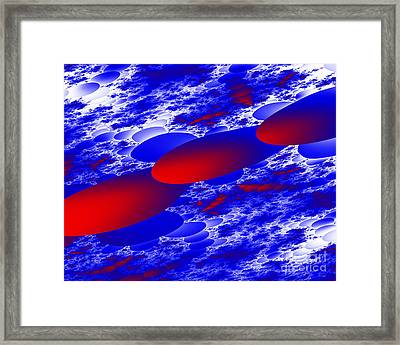 Fly Away Framed Print by Hai Pham