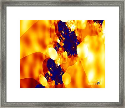Egg Dance Framed Print
