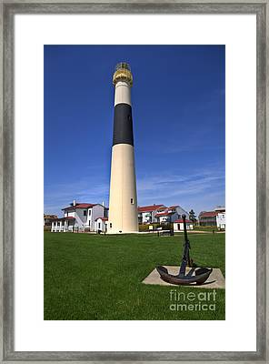Absecon Lighthouse Framed Print by Anthony Sacco