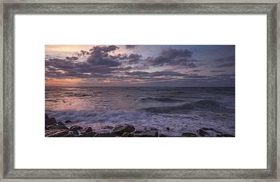 Absense Of Sunlight Framed Print by Jon Glaser