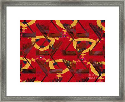 Absent Minded Redhead Framed Print by J Burns