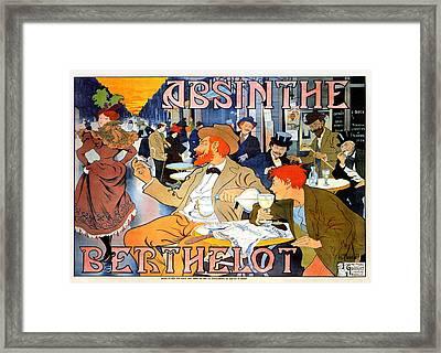 Absinthe Berthelot Framed Print by Henri Thiriet