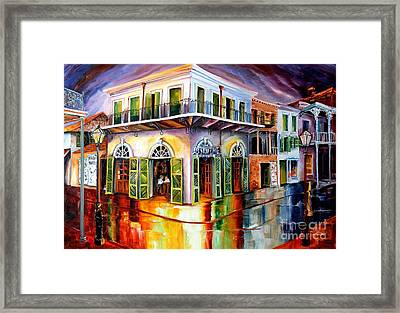 Absinthe House New Orleans Framed Print