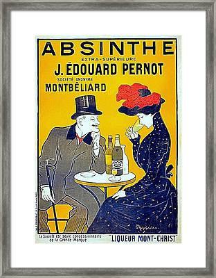 Absinthe - Pernot Framed Print by Charlie Ross