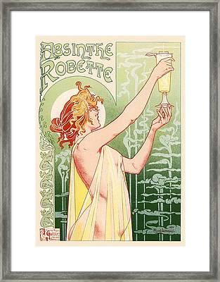 Absinthe Robette Framed Print by Gianfranco Weiss