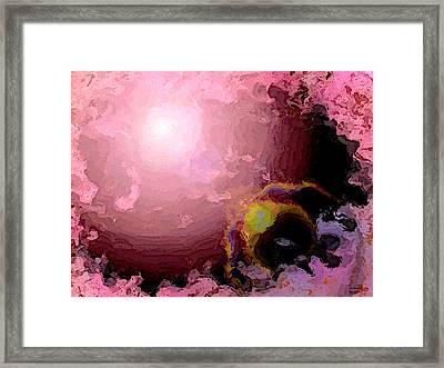 Framed Print featuring the digital art absJuly202013 by Matt Lindley