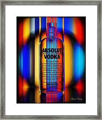Absolut Abstract Framed Print