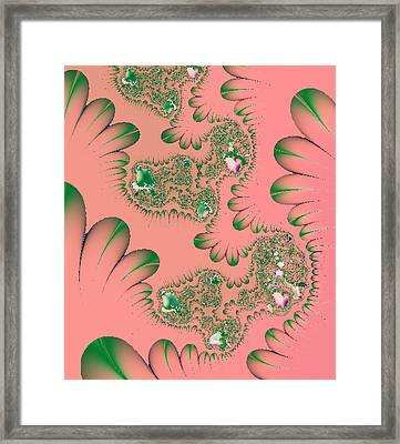 Absolutely Hot Pink Framed Print