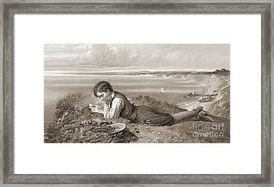 Absorbed 1871 Framed Print by Padre Art