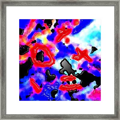 Abst 5 Framed Print by Bruce Iorio