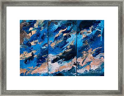 Abstract # 28  Framed Print