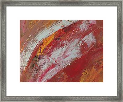 Abstract # 57 Framed Print by Ronald Weatherford