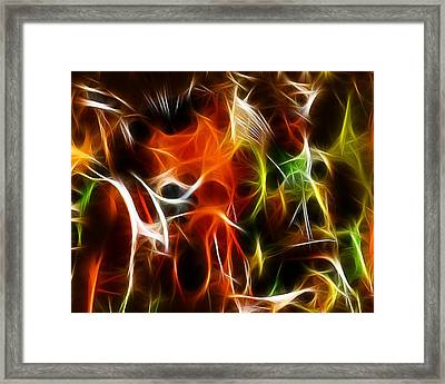 Abstract 001 Framed Print