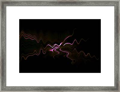 Abstract 0031 Framed Print