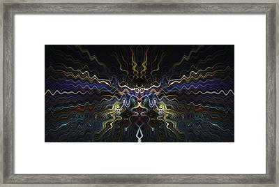 Abstract 0041 Framed Print