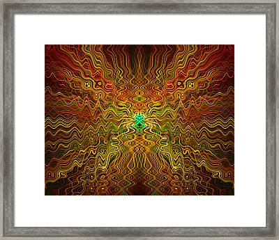 Abstract 0050 Framed Print