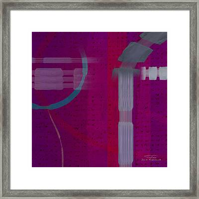 Abstract 01 I Framed Print by Joost Hogervorst