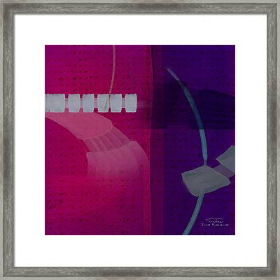 Abstract 01 II Framed Print by Joost Hogervorst