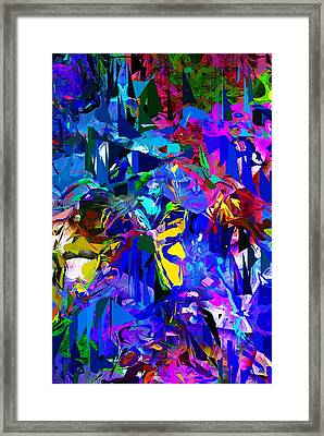 Abstract 010215 Framed Print by David Lane