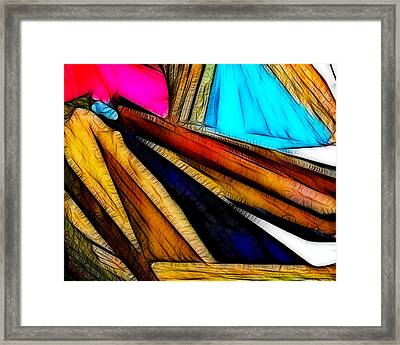 Abstract 012 Framed Print
