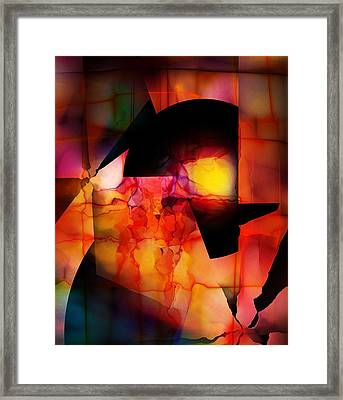 Abstract 012615 Framed Print by David Lane