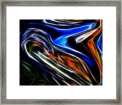Abstract 014 Framed Print