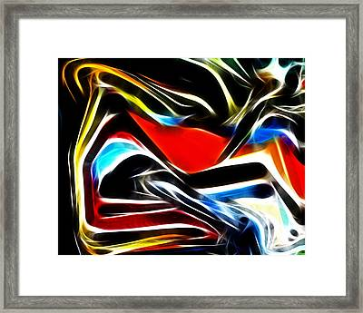 Abstract 018 Framed Print