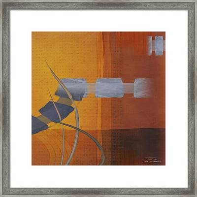 Abstract 02 II Framed Print by Joost Hogervorst