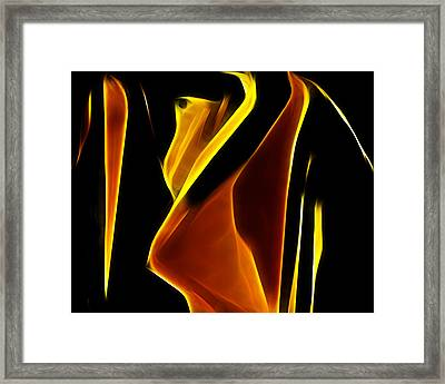 Abstract 026 Framed Print