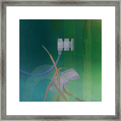Abstract 03 II Framed Print by Joost Hogervorst