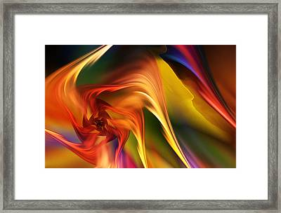 Abstract 031814 Framed Print
