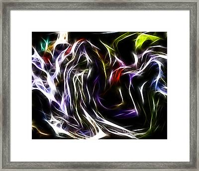 Abstract 033 Framed Print