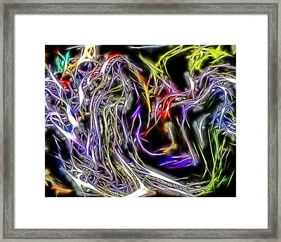 Abstract 034 Framed Print