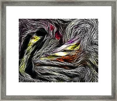 Abstract 035 Framed Print