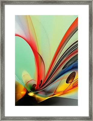 Abstract 040713 Framed Print