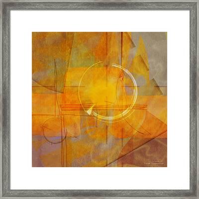 Abstract 05 II Framed Print by Joost Hogervorst