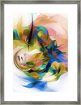 Abstract 052313 Framed Print