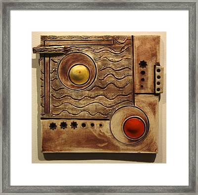 Abstract 1 Framed Print by Dan Earle