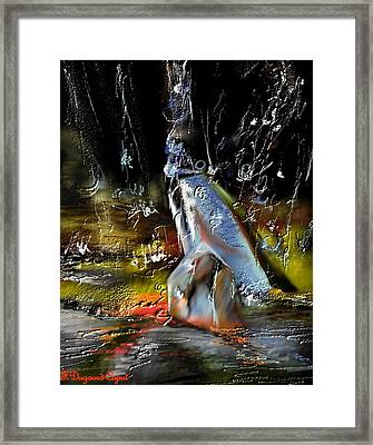 Abstract 1 Framed Print by Francoise Dugourd-Caput
